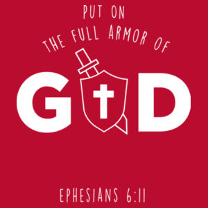Ephesians 6:11, Put on the full armor of God, so that you can take your stand against the devil's schemes. Design