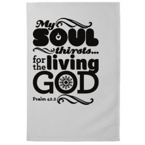 Psalm 42:2 My soul thirsts for God, for the living God. Thumbnail