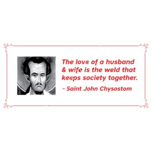 The Love of a Husband and Wife St John Chrys Thumbnail